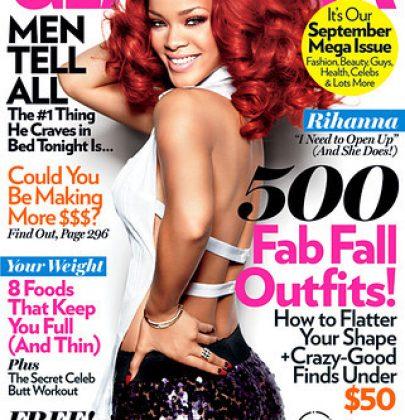 Rihanna's Glamourous Shoot