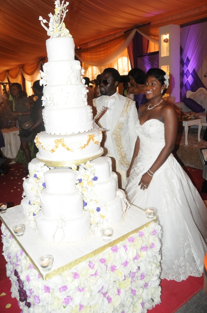 Mercy Johnson Ties The Knot!