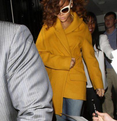 Jacket of The Week: Rihanna at Nozomi in London