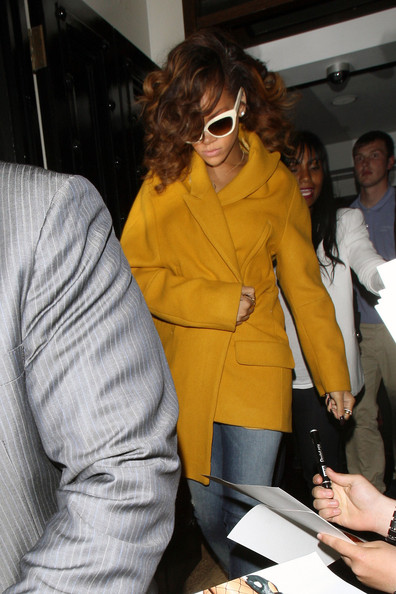 Jacket of The Week: Rihanna at Nozomi in London