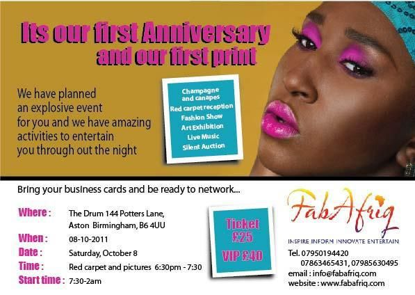 FabAfriq Magazine: Official Launch and First Print