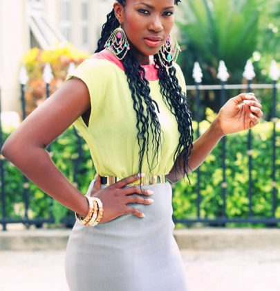 Stephanie Okereke Is The New Face of Kanekalon.