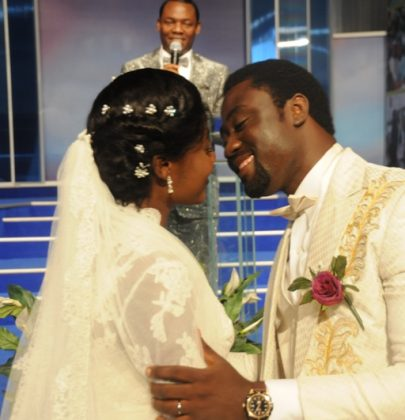 Mercy Johnson's Wedding: A Traditional & White Affair (A Picture Gallery).