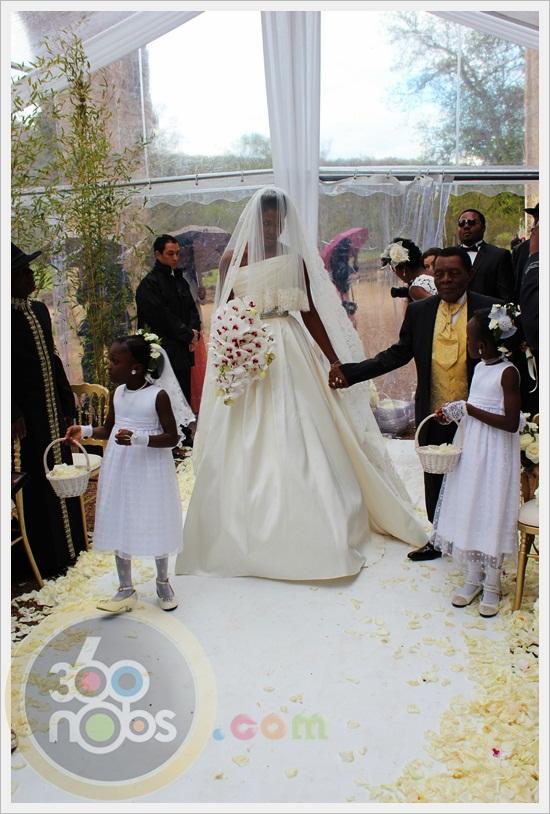 A Royal Affair: Stephanie Okereke and Linus Idahosa Tie the Knot (Exclusive Video)