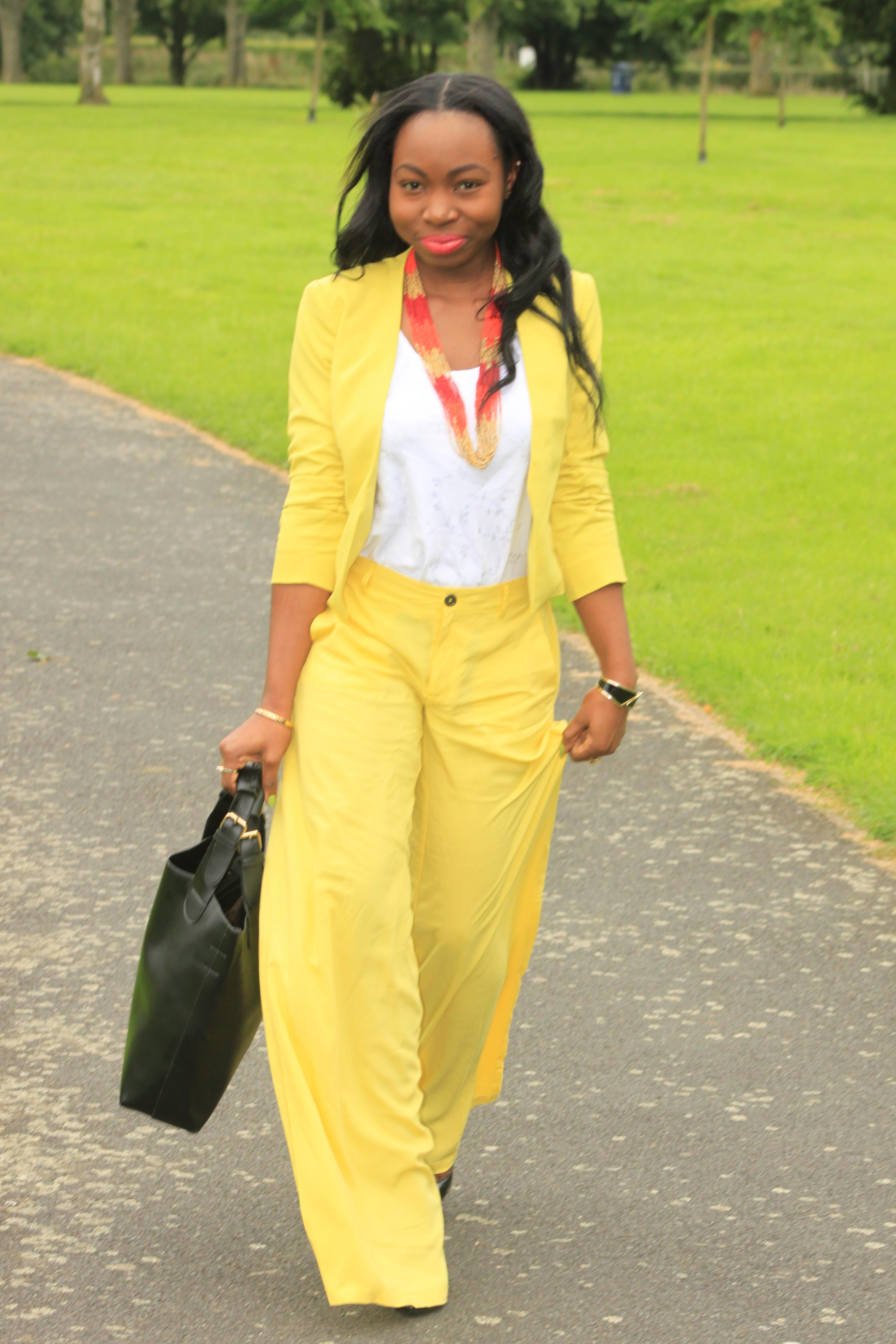 OOTD: Colour Me Yellow