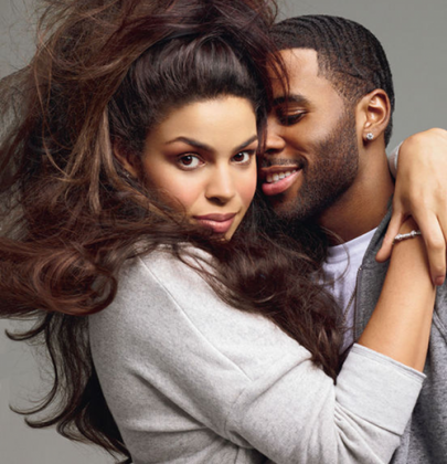 Jordin Sparks And Jason Derulo For Glamour February 2013