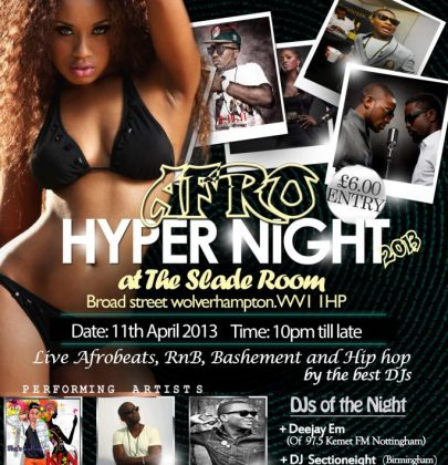 Event: Afro Hyper Night