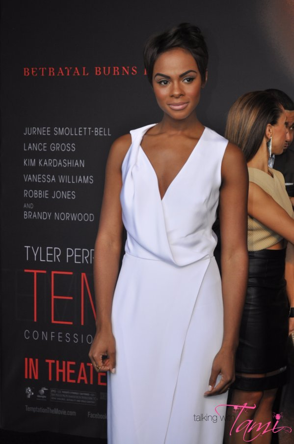 Hot or Not: Tika Sumpter in Cushnie et Ochs At 'Temptation' Premiere