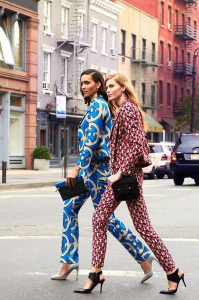 How To Style: Printed Trousers