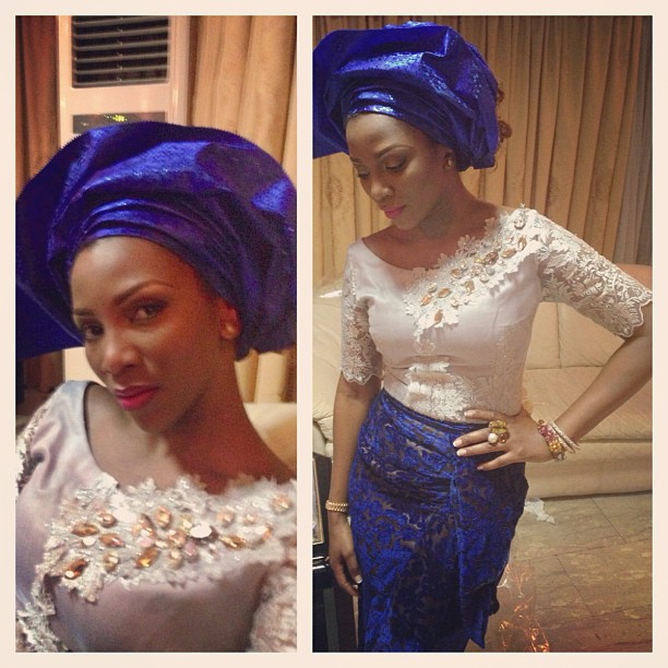Hot or Not: Genevieve Nnaji's Traditional Attire