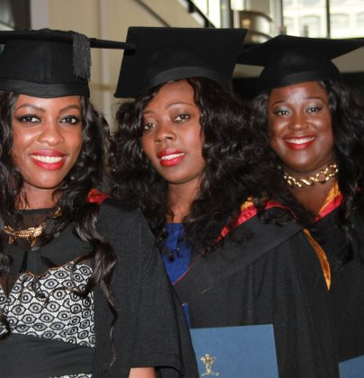 ABY Life: Official Graduation Ceremony of Sandrine, Alphy and Ornella From The University of Wolverhampton
