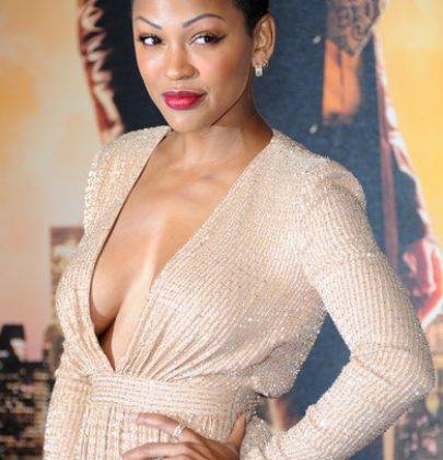 Hot or Not: Meagan Good at Anchorman 2: The Legend Continues Première in Ralph & Russo Gold Gown