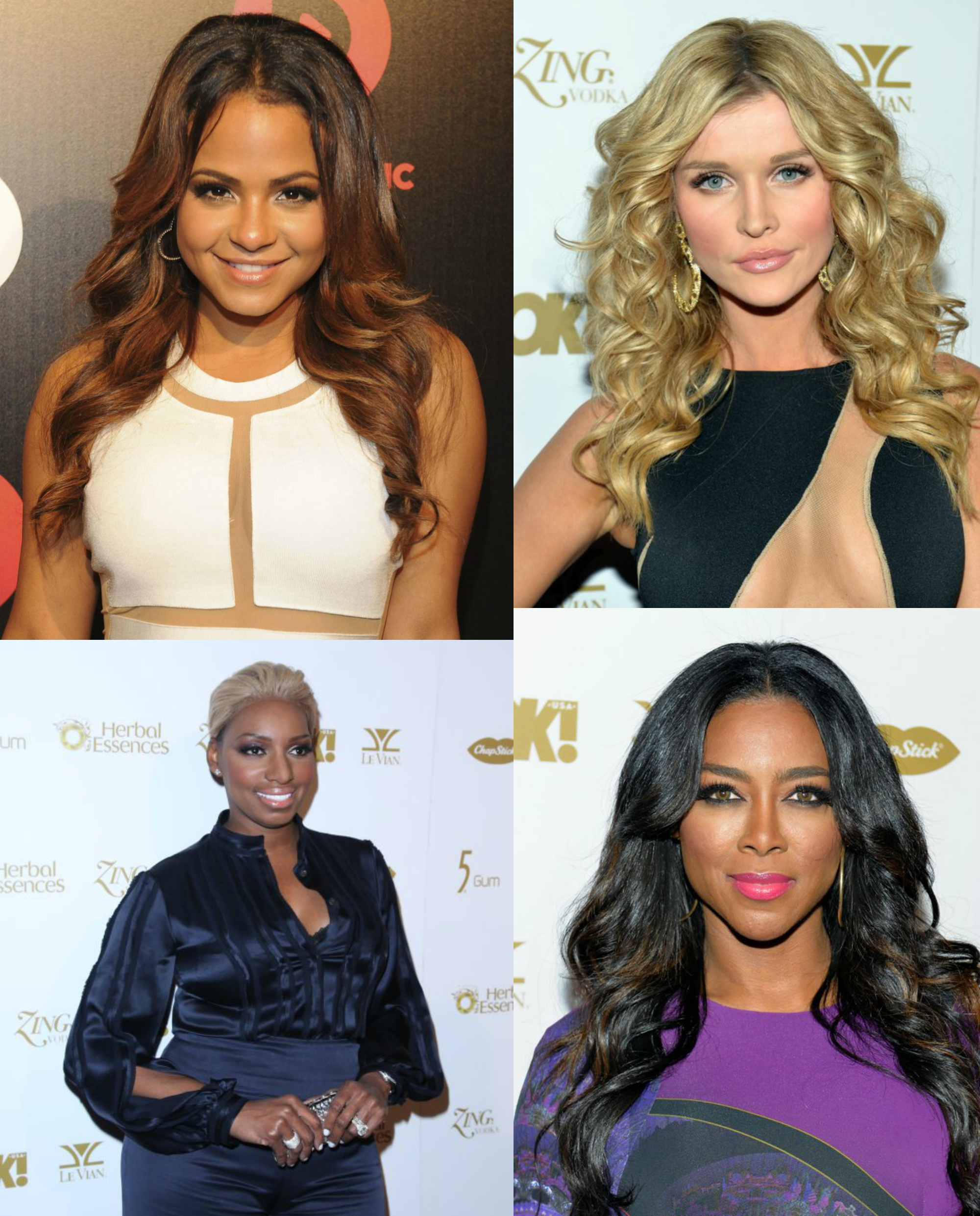 Celebs At The OK! Magazine Pre-Grammy Party