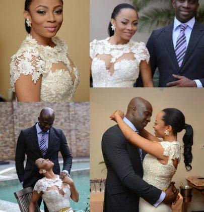 Gallery: Toke Makinwa Releases Photos of Her Secret Wedding to Maje Ayida