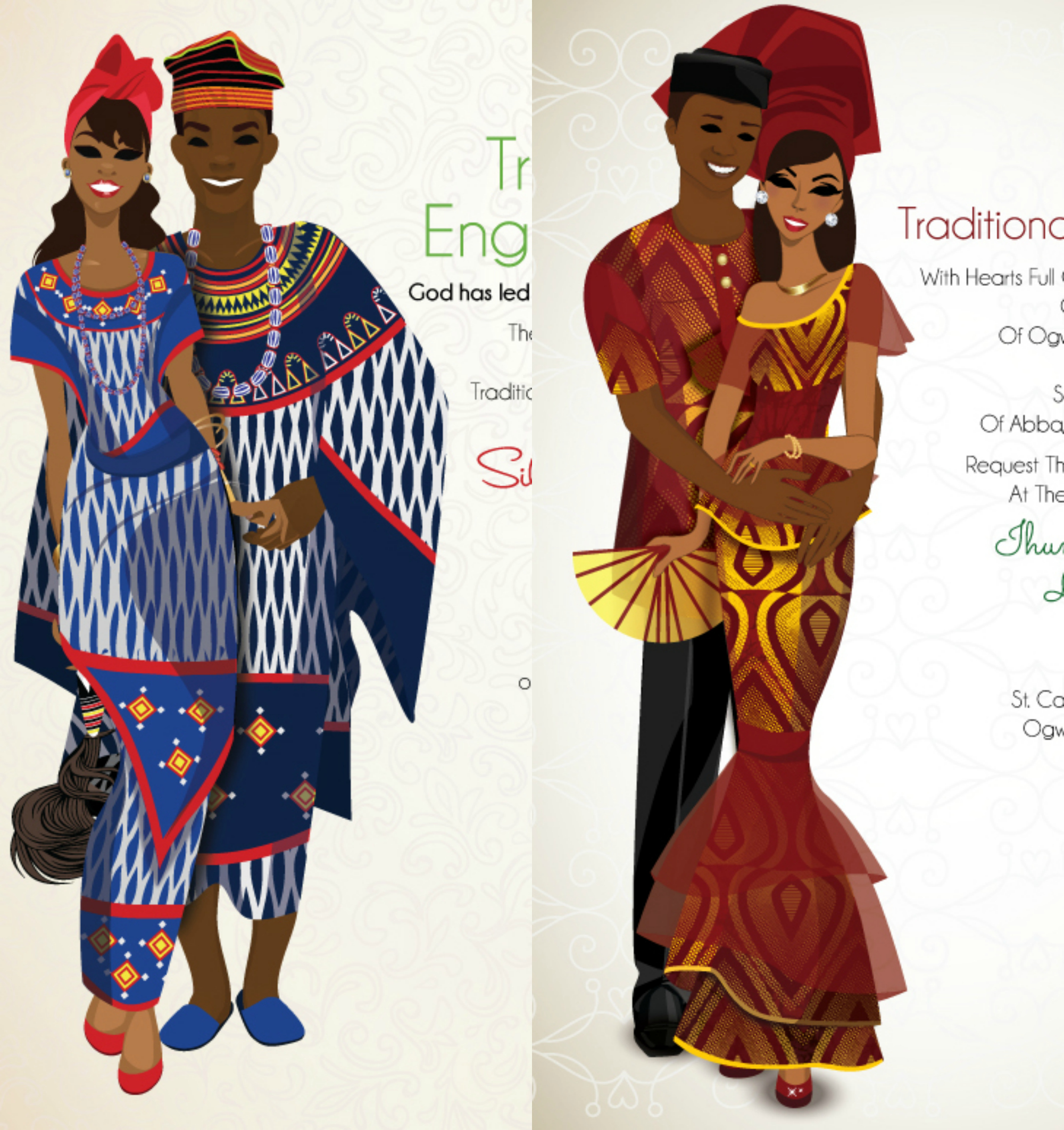 Had To Share: Bibi Invitations Presents African Themed Wedding Invitations