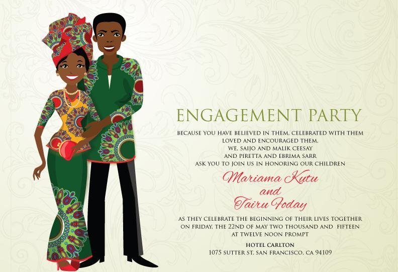 Traditional Wedding Invitation Art Becomes You