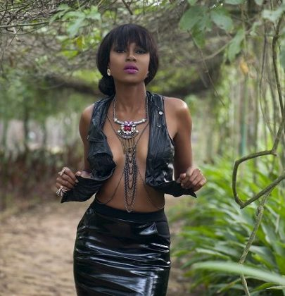 ABY Editorial: Yvonne Nelson Sizzles On The Cover of Y! Africa Magazine April 2014 Issue