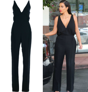 Get The Look: Kim Kardashian's Valentino Sleeveless Jumpsuit