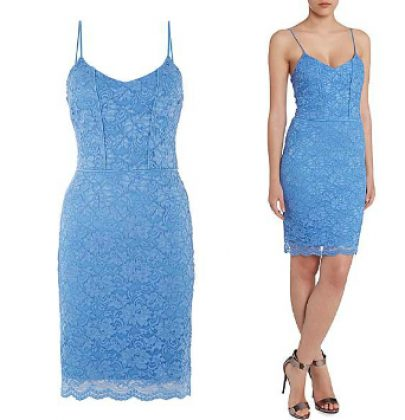 ABY Lust Item Of The Day: John Zack Cami Lace Bodycon Mini Dress