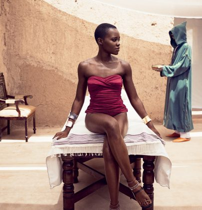 Editorial: Lupita Nyongo'o For Vogue Magazine July 2014 Issue
