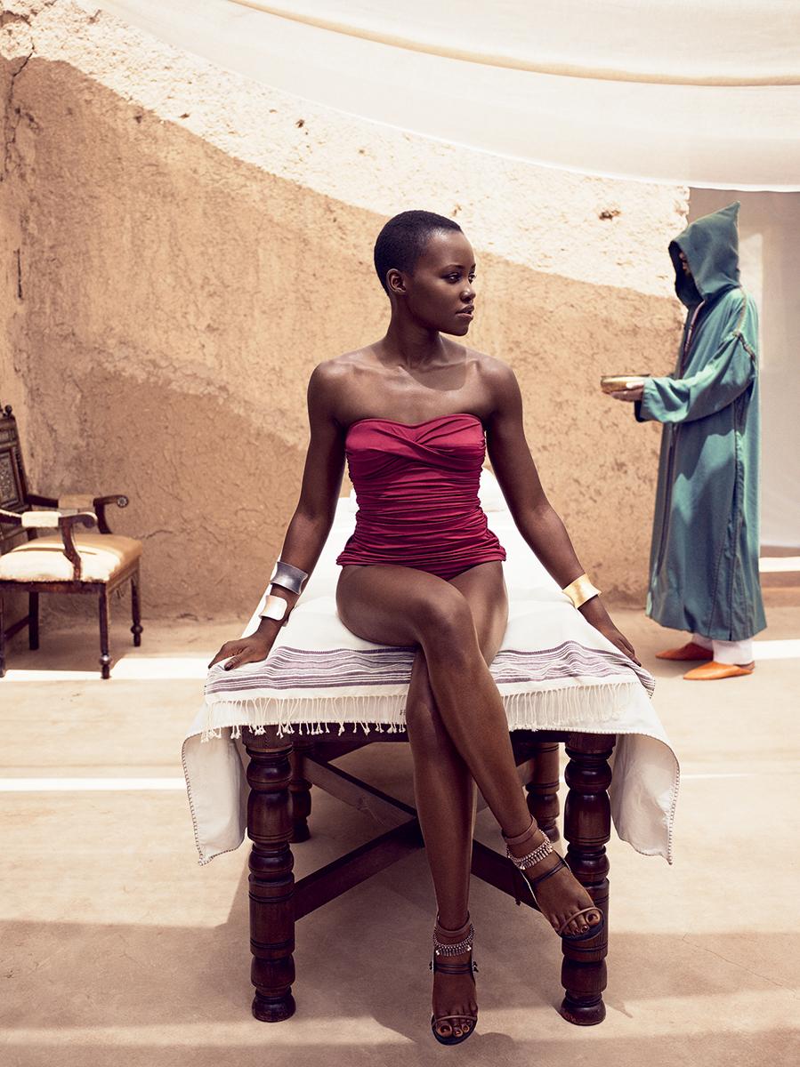 Editorial: Lupita Nyongo'o For Vogue Magazine July 2014 Issue
