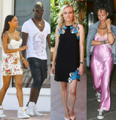 Sizzling Sightings: Ashanti, Diane Kruger, Fanny Neguesha, Sam Faiers, Rihanna, Angela Simmons And More!