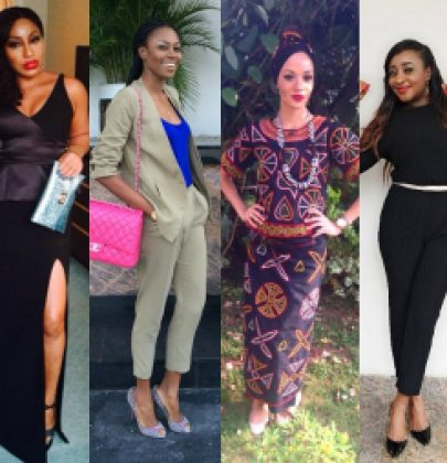 Sizzling Sightings: Rita Dominic, Yvonne Nelson, Tonto Dikeh, Iyanya, Chika Ike, Ini Edo & More!