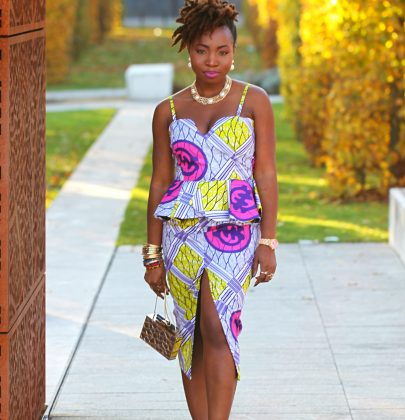 OOTD: Mad about Ankara