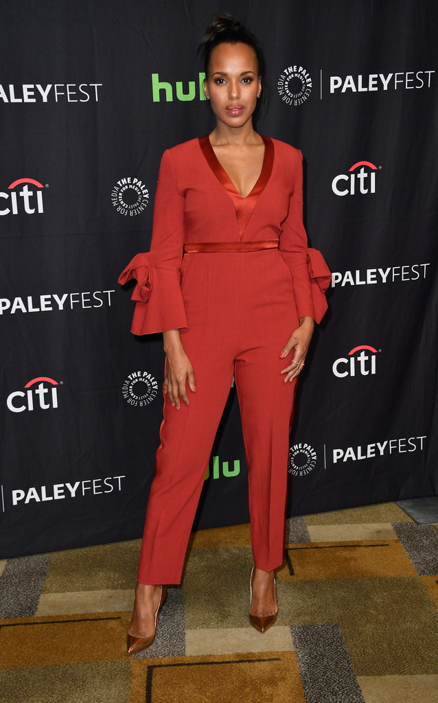 Kerry Washington in Roksanda at The Paley Center For Media's 34th Annual PaleyFest