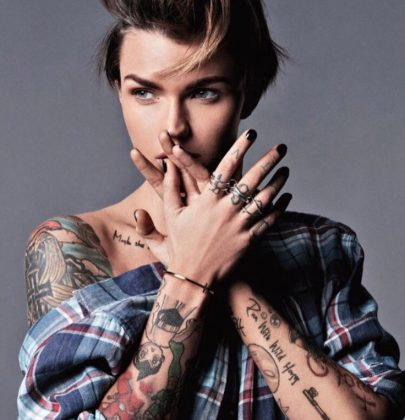 The Inspiration Behind Ruby Rose's Intriguing Tattoos