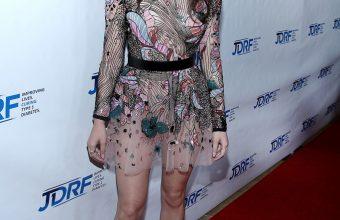 Hailee Steinfield in Elie Saab Fall 2017 Embroidered Mesh Mini Dress – IMAGINE Gala