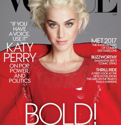 Editorial: Katy Perry for Vogue Magazine US May 2017