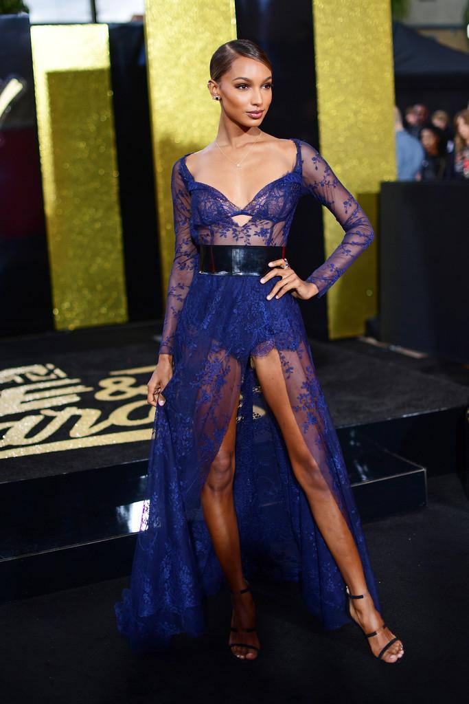 Jasmine Tookes in Lethicia Bronstein – 2017 MTV Movie & TV Awards