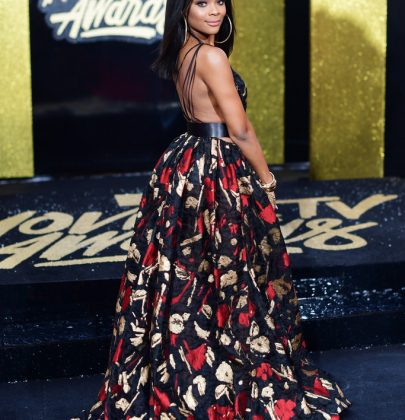 Ajiona Alexus in Fernando Alberto Atelier – 2017 MTV Movies & TV Awards