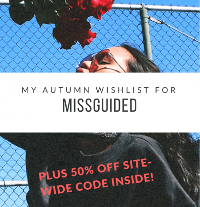 50% OFF At Missguided! Here's My Wishlist…