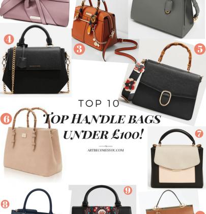 Top 10 Top Handle Bags Under £100