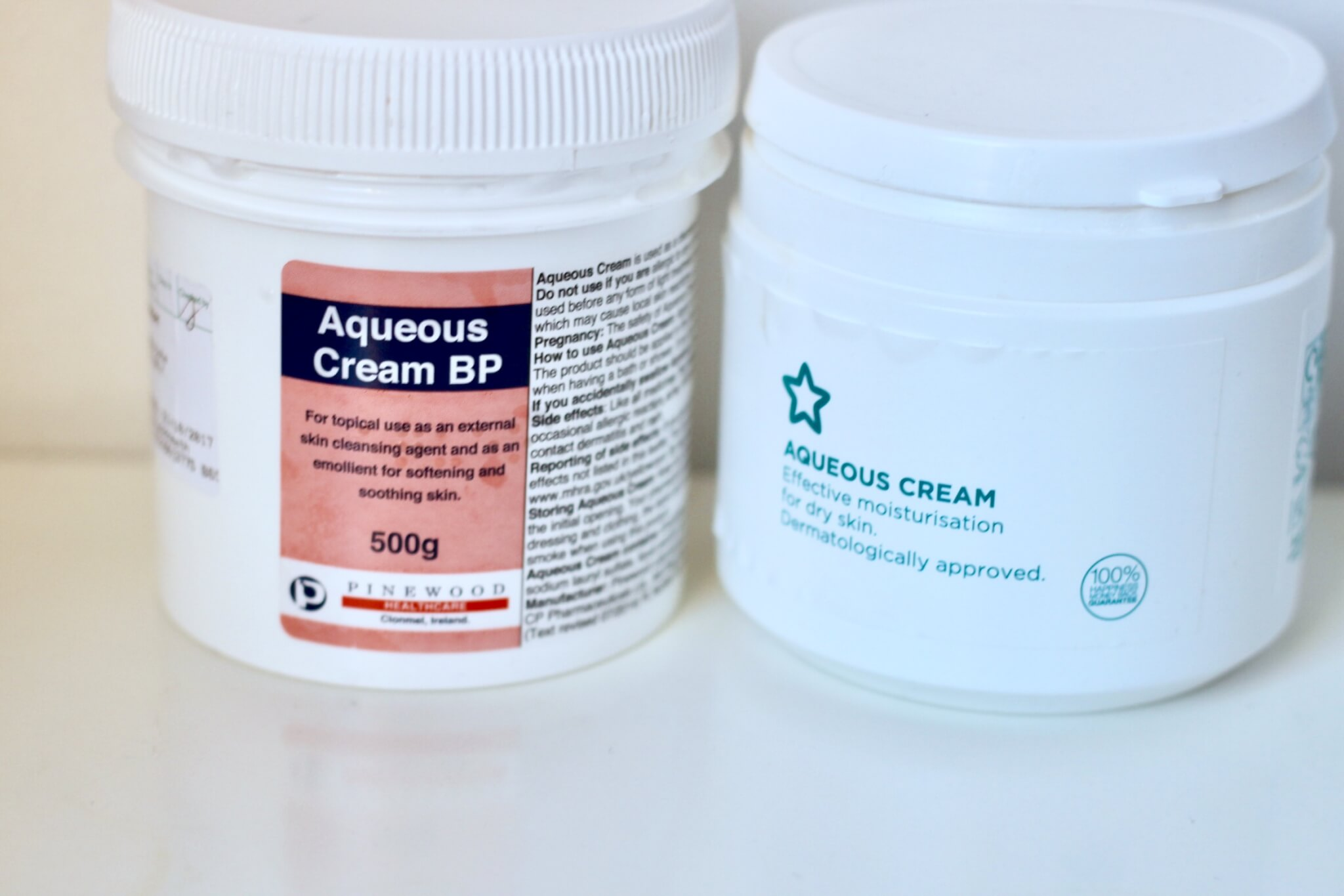 aqueous emollient cream