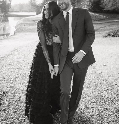 Steal Meghan Markle's Ralph & Russo Engagement Photos Dress!