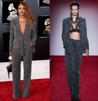 Grammy 2018 Favourites: Eve Wearing Naeem Khan Fall 2017