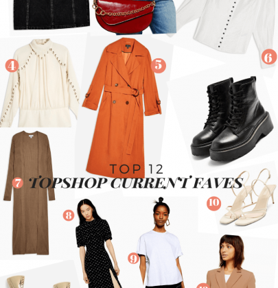 My Current Top 12 Topshop Must-Haves